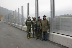 1. Probeaufbau Hochwasserschutz 2011