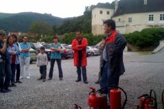 Feuerlöscherschulung 2010