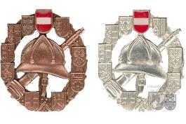 Leistungsabzeichen Bronze und Silber
